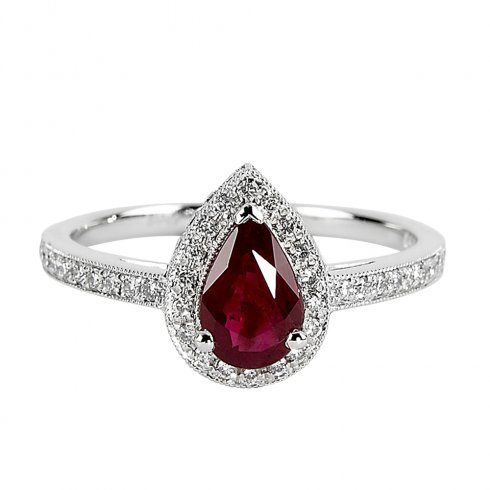 Ruby And Diamond Wedding Rings