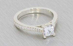 Classic Solitaire Engagement Ring  - Portfolio