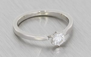Modified Custom Solitaire Engagement Ring