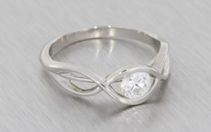 Infinity Engagement Ring - Portfolio